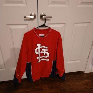 St. Louis Cardinals Windbreaker- sz Medium